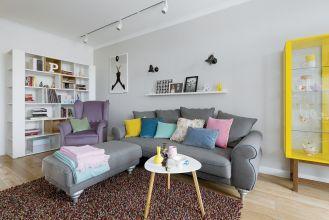 Mieszkanie w pastelach