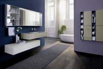 kolorowa łazienka z wanną