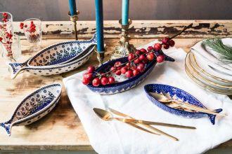 ozdoby świąteczne ceramika bolesławiec