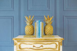 podpórki do książek ananas