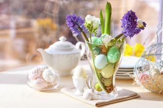 jak zrobić dekoracje na stół wielkanocny