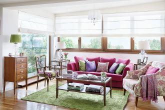 Mieszkanie w bloku: stylowe i kolorowe