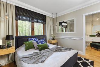 sypialnia w stylu nowojorskim zdjęcia