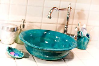 Umywalka z www.dekornia.pl. Kolorowe umywalki