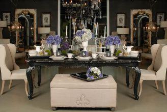 Klasyka i glamour przy stole