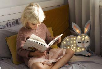 lampa nocna do pokoju dziewczynki