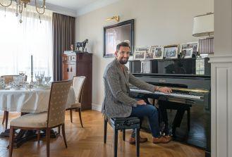 aranżacja klasycznego salonu