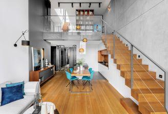 wnętrzew stylu loftowym