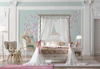 Poranek infantki - stylowa sypialnia