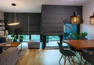 trendy w dekoracjach okiennych