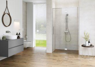 domowe spa w łazience z prysznicem