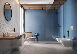 płytki łazienkowe 3d cersanit