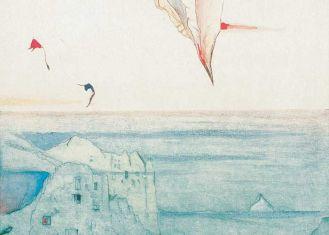 Egea - Zatopione , 1992 r. Graficzne metafory Leszka Rózgi