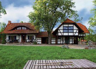 Siedlisko składa się domu, młyna, stodoły połączonej ze stajnią, sieciarni i ruskiej bani.