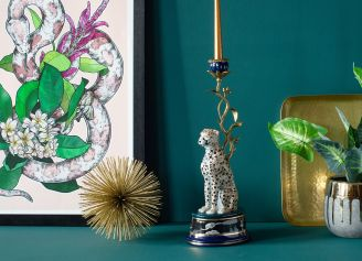 Świeczniki dekoracyjne zwierzęta