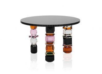 stół z kryształu