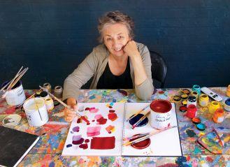 W pracowni Annie Sloan