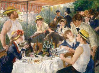 Historia mody Renoir Śniadanie wioślarzy