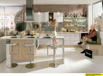 Kuchnia Star Plus. NOLTE. Aranżacje kuchni: urządzona jak salon