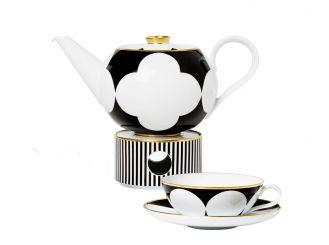 dzbanek do herbaty z podgrzewaczem