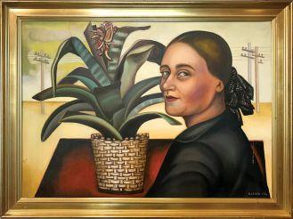 Nadia Léger autoportret