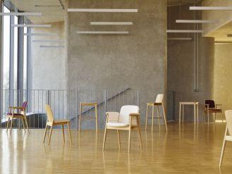 Kolekcja krzeseł PROP, zaprojektowana przez Nikodema Szpunara dla Pagedu.