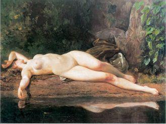 Odpoczynek – Po kąpieli , 1895 r., Warszawa, Muzeum Narodowe