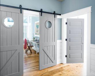 najmodniejsze kolory drzwi