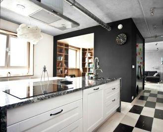 70-metrowe mieszkanie w nowoczesnej, ale stylowej aranżacji.