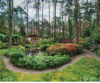 Niezwykły dom i niezwykły ogród. Porównywanie go do tajemniczego i zaczarowanego jak w angielskich powieściach