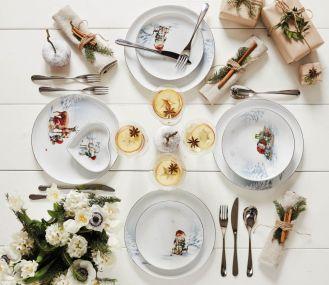stół wigilijny elegancka dekoracja