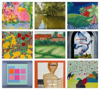 Wakacyjne obrazy na wystawie i aukcji w DESA Unicum
