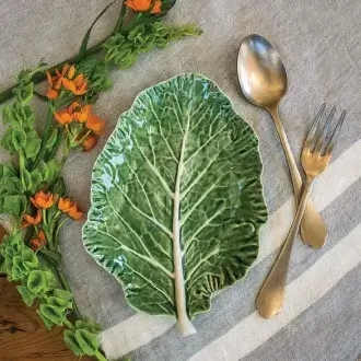 półmisek w kształcie liścia sałaty