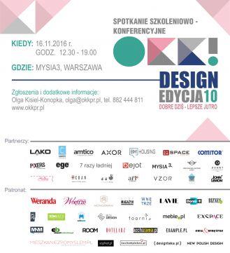 Jubileuszowe, 10. spotkanie OKK! design