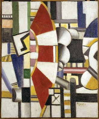 Fernand Léger Czerwone koło , 1920 r.