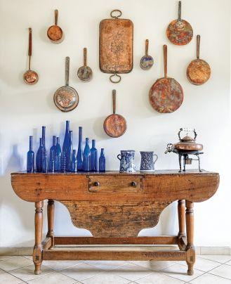 dodatki w kuchni rustykalnej