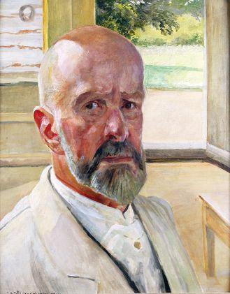 Jacek Malczewski Autoportret , 1924 r., 201. aukcja dzieł sztuki i antyków, dom aukcyjny Rempex