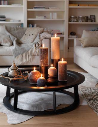 W ciepłym blasku świec