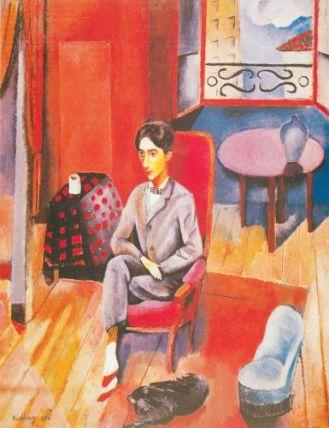 Mojżesz Kisling Portret Jeana Cocteau , 1916, Musee Petit Palaise, Genewa