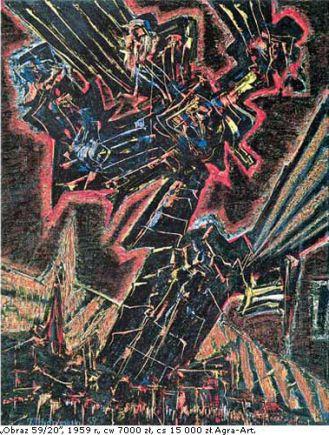Choć domagno się Bierutów i Stalinów , Jerzy Tchórzewski malował po swojemu.