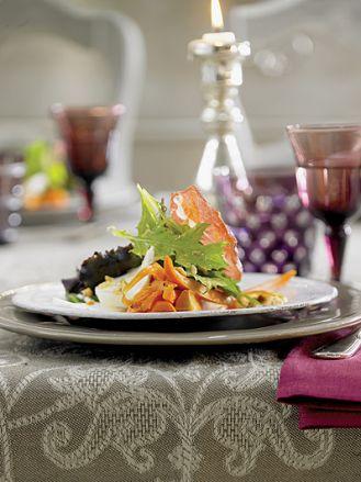 Sałatka z pieczoną marchewką. Przepisy na karnawałową imprezę