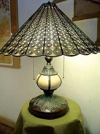 Rękodzieło z pracowni lamp Tiffany i art déco. MAGEDI - EDWARD MAGDZIARZ