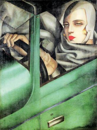 Tamara Łempicka, Autoportret , 1929 r., TAH/Mimi New Jork