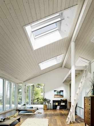Energooszczędne okna Nowa Generacja Velux z większą szybą, Velux