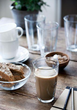 Szklanka do cafe latte Grand Cru Soft, 4 sztuki za 99 zł. FABRYKA FORM