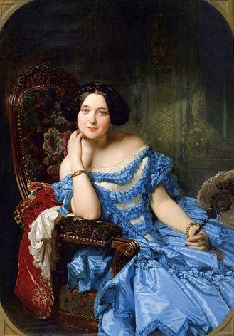 Federico de Madrazo, Amalia de Llano y Dotres, hrabina de Vilches , 1853 r.