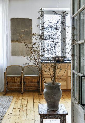 mieszkanie w stylu wabi sabi