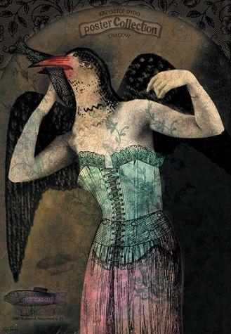 Dydo Poster Gallery , 2012 r. Kolaże z przeszłości Kai Renkas