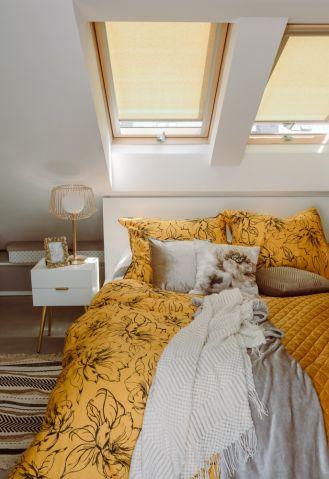 jak ocieplić wnętrze sypialni dodatkami