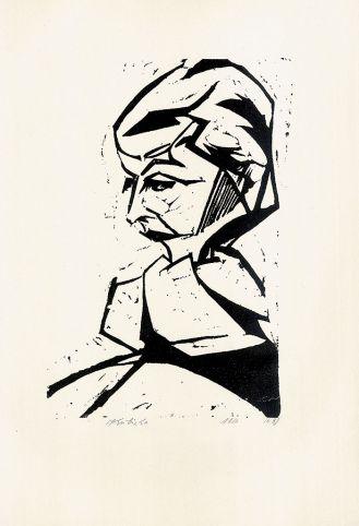 Margarete Kubicka Portret Stanisława Kubickiego , 1916 r.